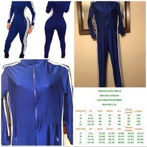Women Long Sleeve Sport Jumpsuit